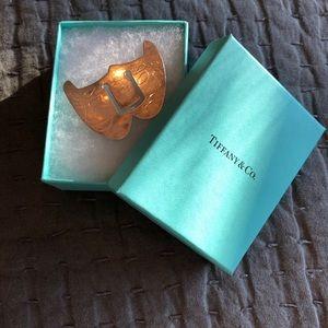Used Tiffany & Co. rare theater masks bookmark